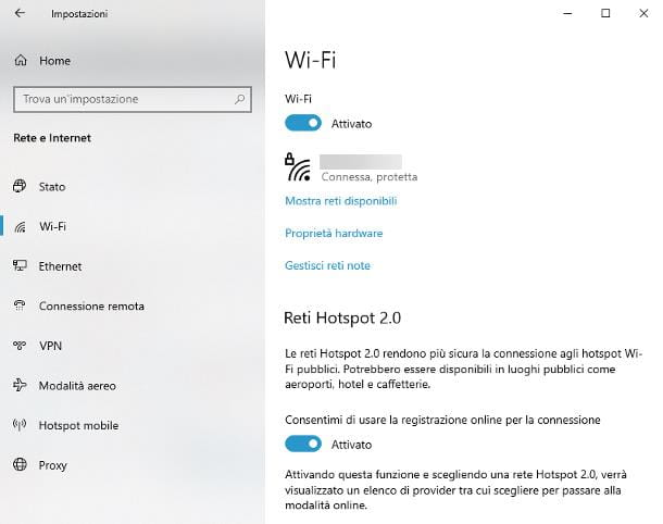 Come si attiva il WiFi sul PC fisso: Windows 10