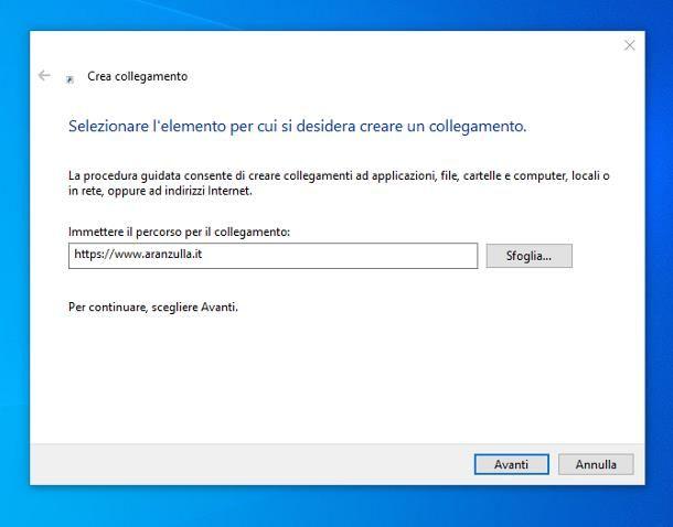 Come copiare un link su Windows