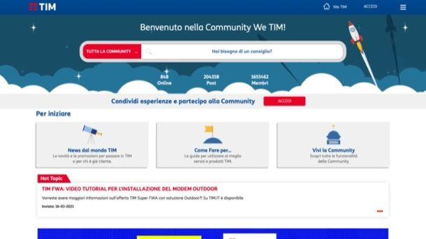 Community TIM