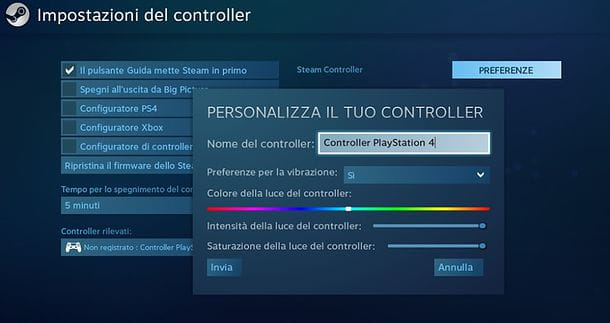 Come collegare il joystick PS4 al PC