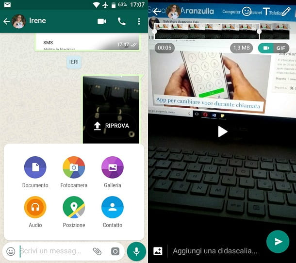 GIF WhatsApp Android