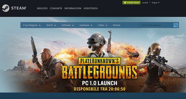 Sito Steam