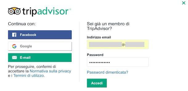 Come cancellarsi da TripAdvisor | Salvatore Aranzulla