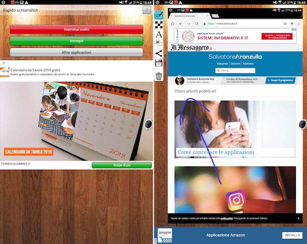 App per fare screenshot