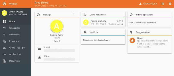DropPay Web App