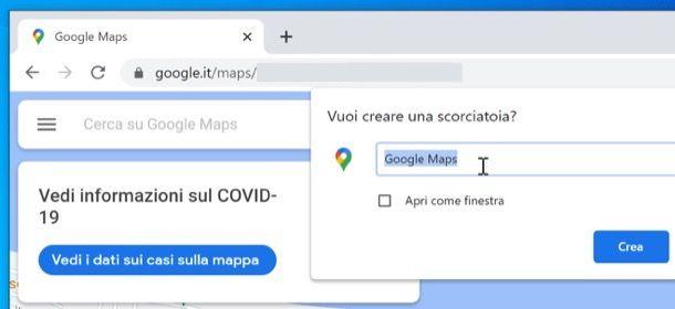 Icona di Maps