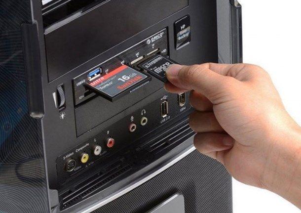 Lettore schede PC
