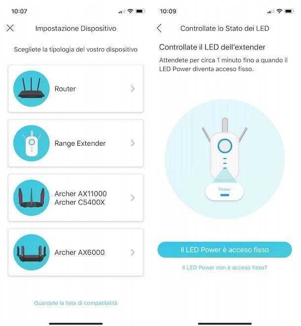 Configurare TP Link Extender da smartphone e tablet