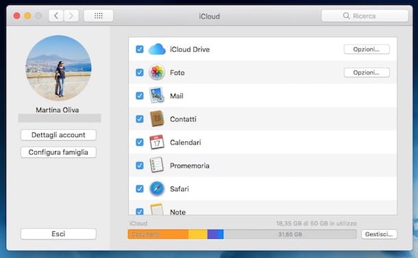 Come fare backup iCloud