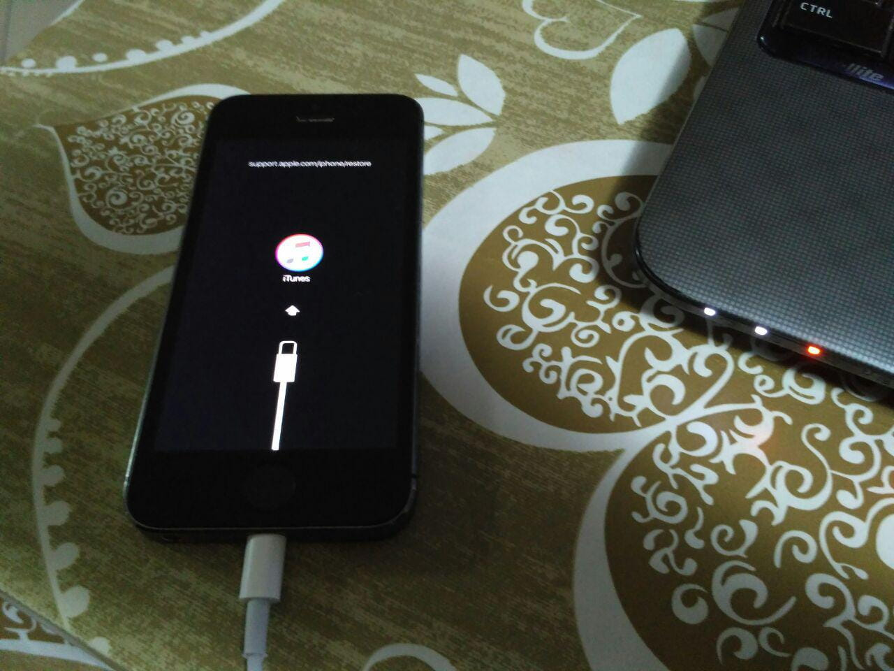 iPhone - Modalità di recupero
