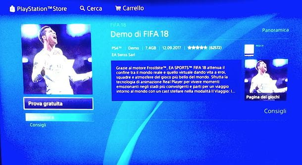 Download demo PS4