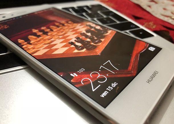 Come togliere blocco schermo Huawei
