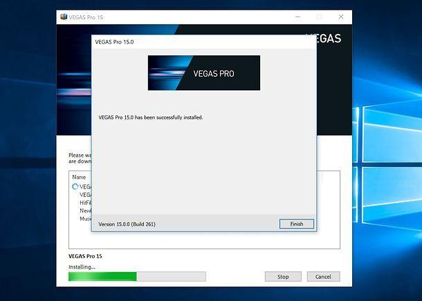 Come installare Sony VEGAS Pro