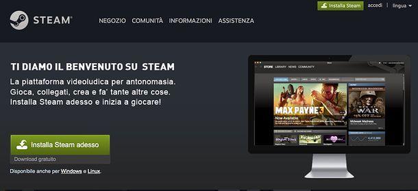 Scaricare Steam