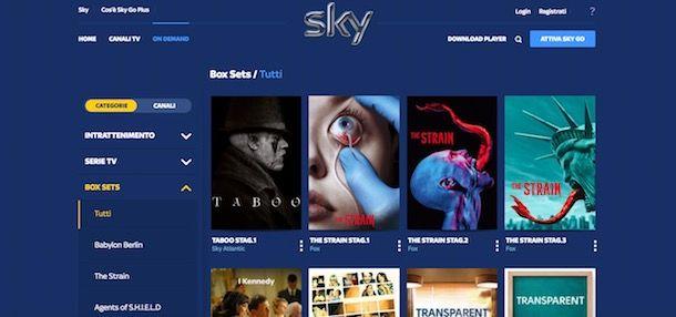 Abbonamento Sky: assistenza per TV e Sky Wifi | Sky