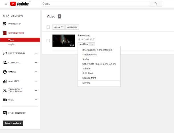 Come mettere i sottotitoli su YouTube