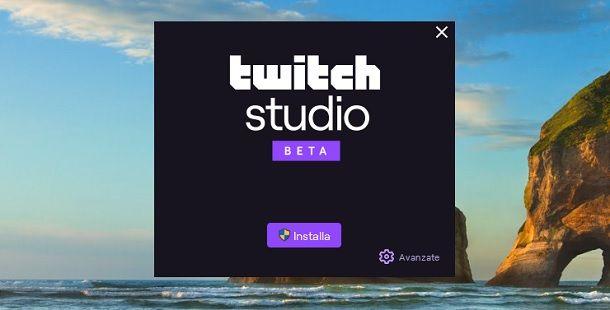Come installare Twitch Studio