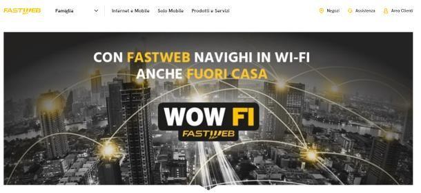 Come funziona WOW FI Fastweb