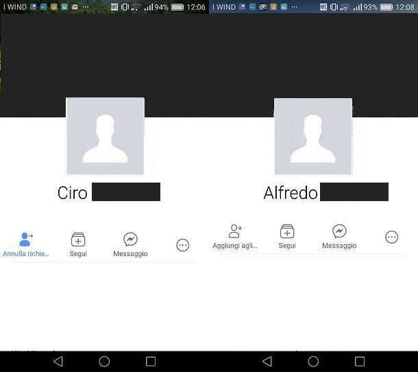 Come vedere le richieste di amicizia inviate su Facebook per Android