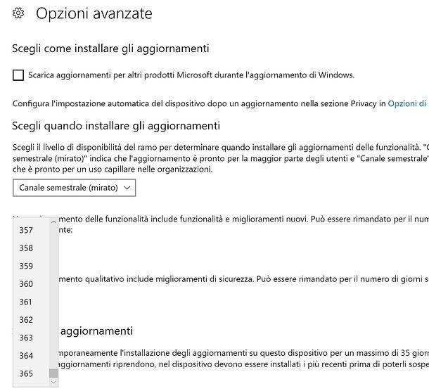 Come bloccare aggiornamenti Windows 10 Pro