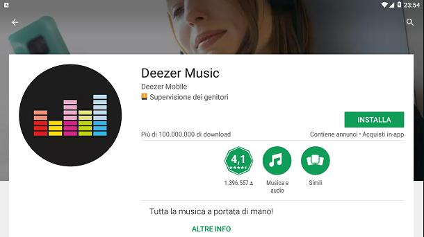 Deezer – Download | Salvatore Aranzulla
