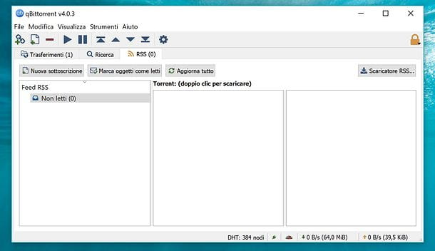 qBittorrent feed RSS