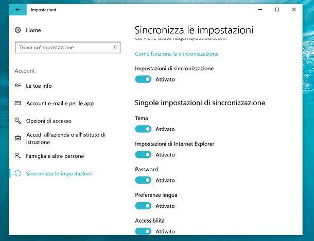 Backup online Windows