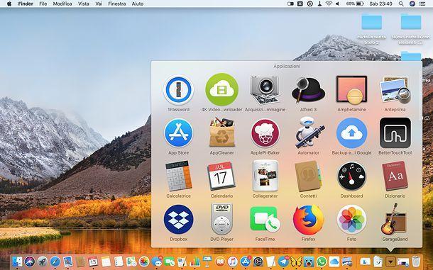 Cartella Applicazioni macOS