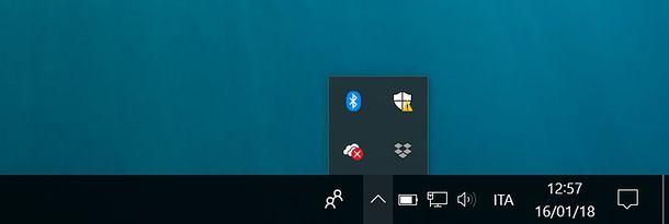 Icona Bluetooth Windows