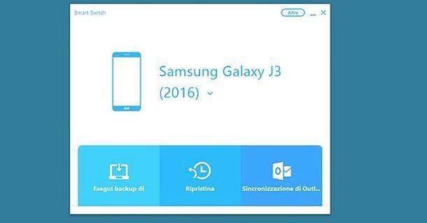 Come aggiornare il telefono Samsung dal PC