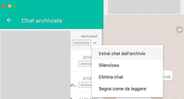Come sbloccare contatti WhatsApp PC
