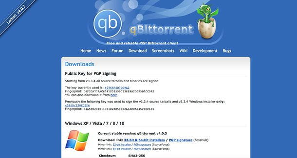 Download qBittorrent