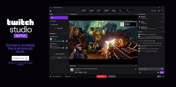 Twitch Studio Streammare