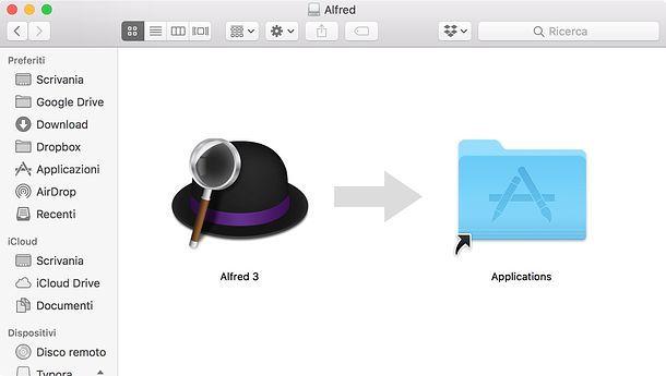 Installare i programmi su macOS