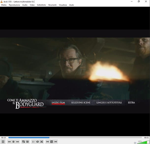 VLC Media Player - DVD su Windows 10