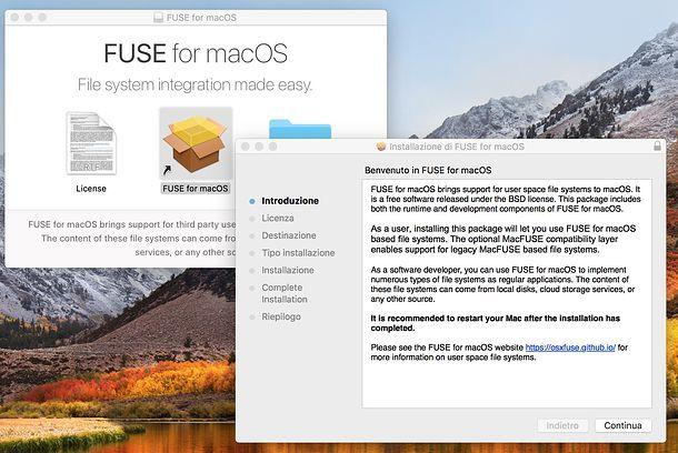 Installare i programmi PKG su macOS