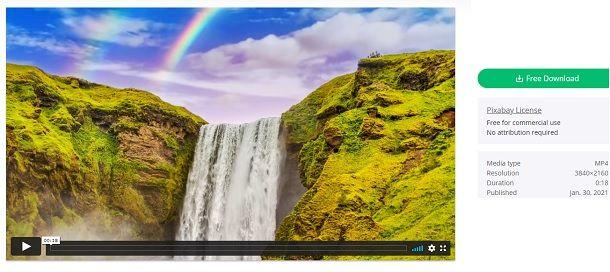 Video sfondo animato