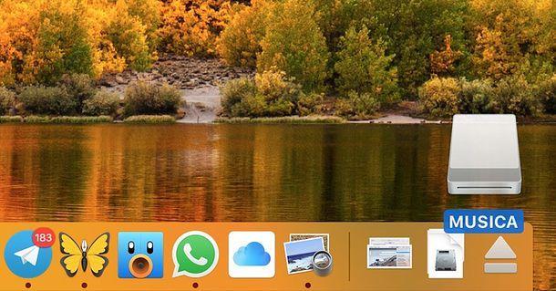 Come rimuovere chiavette USB dal Mac