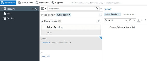 evernote sul pc