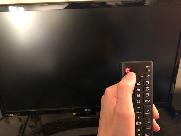 Come pulire televisore LED