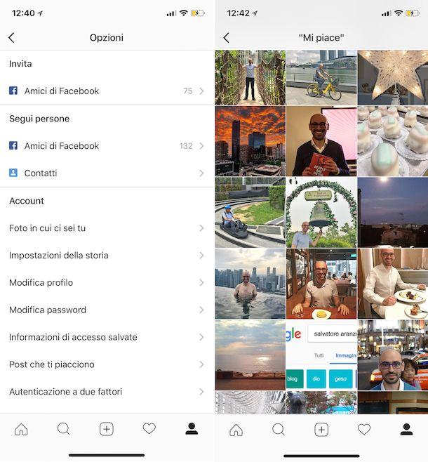 Come vedere i Mi piace su Instagram