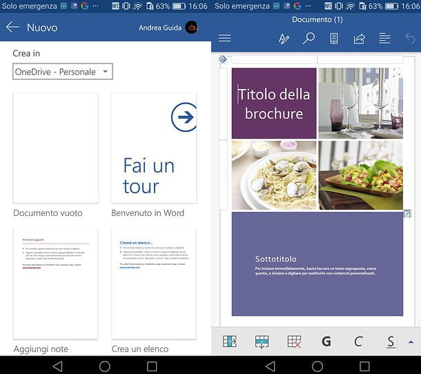Come creare brochure con Word