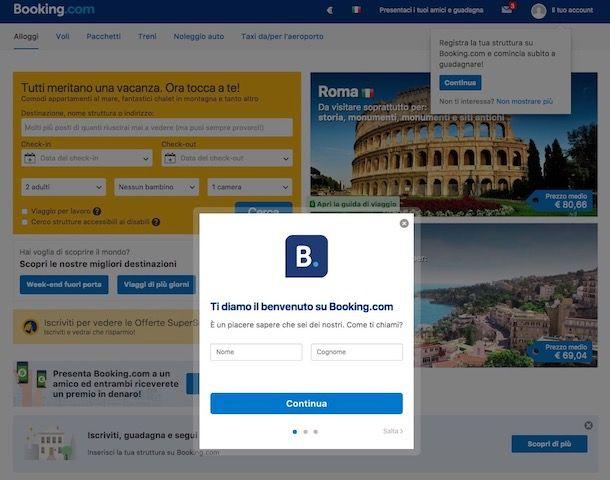 Come registrarsi su Booking | Very Tech