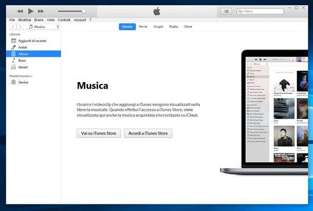 Come caricare musica su iTunes