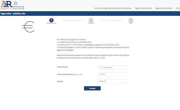 Come pagare MAV online