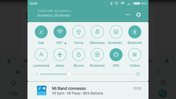 Attivare GPS Android