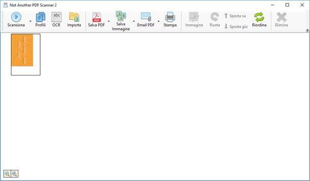 NAPS2 - Scannerizzare con Windows 10