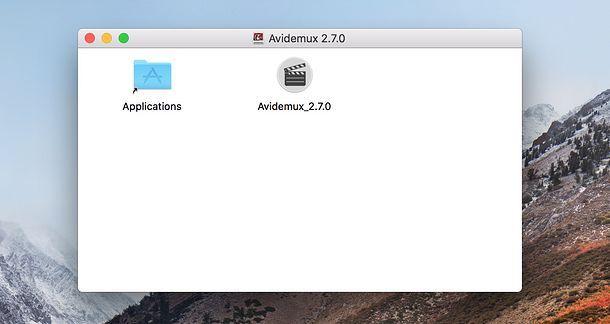 Installazione Avidemux Mac