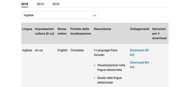 Come cambiare lingua su Outlook per Windows