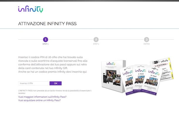 Come vedere Infinity gratis